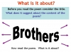 Brothers - Andrew Forster Teaching Resources (slide 7/33)