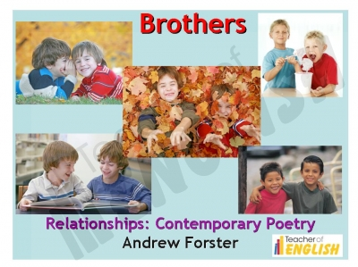 Brothers - Andrew Forster Teaching Resources