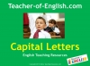 Capital Letters (KS1) Teaching Resources (slide 1/16)