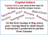 Capital Letters (KS1) Teaching Resources (slide 2/16)