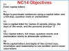 Capital Letters (KS1) Teaching Resources (slide 3/16)
