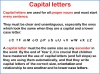 Capital Letters (KS1) Teaching Resources (slide 4/16)