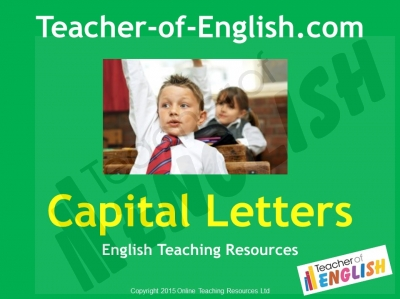 Capital Letters (KS1) Teaching Resources