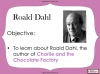 Charlie and the Chocolate Factory (sample) Teaching Resources (slide 3/16)