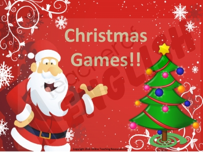 Christmas Games Teaching Resources