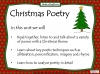 Christmas Poetry Unit (slide 2/120)