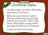 Christmas Poetry Unit (slide 31/120)