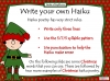 Christmas Poetry Unit (slide 33/120)
