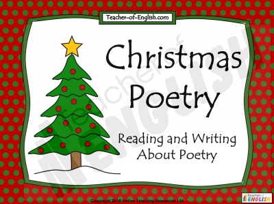 Christmas Poetry Unit