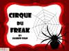Cirque Du Freak by Darren Shan (slide 1/91)