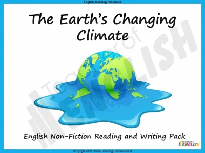 Climate Change - Non-Fiction Unit Teaching Resources