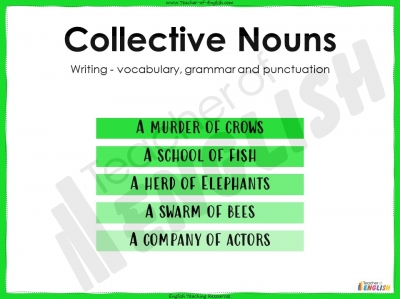 Collective Nouns - KS2