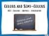Colons and Semi-Colons - KS3 Teaching Resources (slide 1/43)