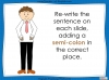 Colons and Semi-Colons - KS3 Teaching Resources (slide 28/43)