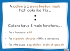 Colons and Semi-Colons - KS3 Teaching Resources (slide 5/43)