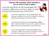 Comma Splicing - KS2 Teaching Resources (slide 16/18)