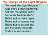 Comparing Poems - Dulce et Decorum Est and The Charge of the Light Brigade (slide 10/103)