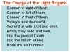 Comparing Poems - Dulce et Decorum Est and The Charge of the Light Brigade (slide 11/103)