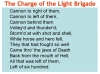 Comparing Poems - Dulce et Decorum Est and The Charge of the Light Brigade (slide 13/103)