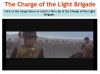 Comparing Poems - Dulce et Decorum Est and The Charge of the Light Brigade (slide 20/103)