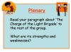 Comparing Poems - Dulce et Decorum Est and The Charge of the Light Brigade (slide 37/103)