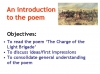 Comparing Poems - Dulce et Decorum Est and The Charge of the Light Brigade (slide 6/103)