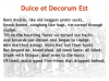 Comparing Poems - Dulce et Decorum Est and The Charge of the Light Brigade (slide 63/103)
