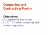 Comparing Poems - Dulce et Decorum Est and The Charge of the Light Brigade (slide 99/103)
