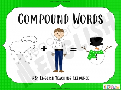 Compound Words for KS1 Teaching Resources