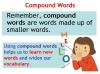 Compound Words (slide 8/10)