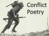 Conflict Poetry - Year 8 & 9 Teaching Resources (slide 1/134)