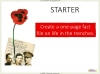 Conflict Poetry - Year 8 & 9 Teaching Resources (slide 101/134)