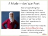 Conflict Poetry - Year 8 & 9 Teaching Resources (slide 121/134)