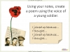 Conflict Poetry - Year 8 & 9 Teaching Resources (slide 35/134)
