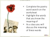 Conflict Poetry - Year 8 & 9 Teaching Resources (slide 36/134)