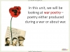 Conflict Poetry - Year 8 & 9 Teaching Resources (slide 5/134)