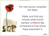 Conflict Poetry - Year 8 & 9 Teaching Resources (slide 54/134)