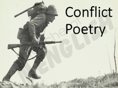 Conflict Poetry - Year 8 & 9 Teaching Resources