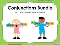 Conjunctions Bundle - Year 2