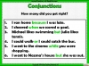 Conjunctions (slide 6/11)