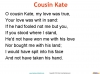 Cousin Kate by Christina Rossetti (slide 12/42)