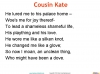 Cousin Kate by Christina Rossetti (slide 9/42)