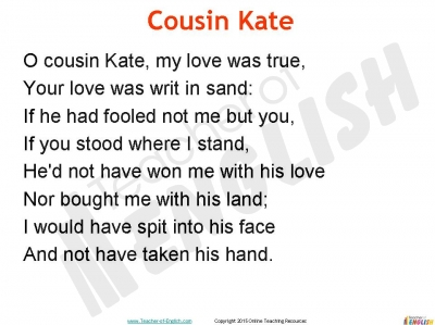 cousin kate poem essay essays college cousin kate poem essay drivehm com
