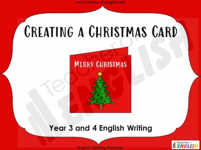 Creating a Christmas Card