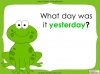 Days of the Week - Year 1 Teaching Resources (slide 12/60)