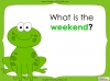 Days of the Week - Year 1 Teaching Resources (slide 14/60)
