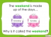 Days of the Week - Year 1 Teaching Resources (slide 15/60)