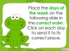 Days of the Week - Year 1 Teaching Resources (slide 17/60)