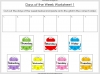 Days of the Week - Year 1 Teaching Resources (slide 19/60)