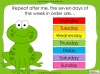 Days of the Week - Year 1 Teaching Resources (slide 20/60)